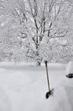 Tempesta della neve Fotografie Stock Libere da Diritti