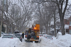 Tempesta della neve Immagine Stock Libera da Diritti