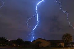 Tempesta della sorgente Fotografia Stock