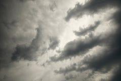 tempesta delle nubi fotografie stock