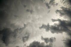 tempesta delle nubi immagine stock