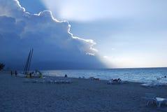 Tempesta di Caribean Immagini Stock Libere da Diritti