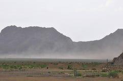 TEMPESTA DI DESERTO NELL'IRAN Fotografie Stock Libere da Diritti