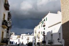 Tempesta di Ibiza Immagine Stock