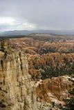 Tempesta di monsone sopra Bryce Fotografie Stock