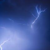 Tempesta di notte Immagine Stock