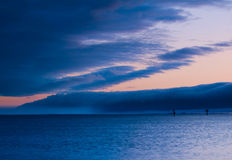 Tempesta di Ocracoke Fotografia Stock