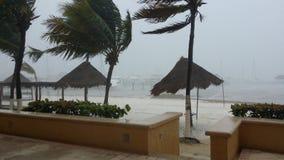 Tempesta di Tfopical nel Messico Immagine Stock Libera da Diritti