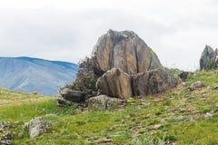 Tempesta di vento sopra il lago Baikal Immagine Stock Libera da Diritti