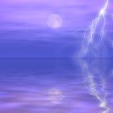 Tempesta distante immagine stock