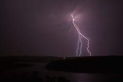Tempesta elettrica Fotografia Stock Libera da Diritti