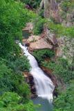 Tempesta Falls, Tallulah Gorge. HDR of the Tempesta Falls at the Tallulah Gorge State Park, Georgia Stock Photos