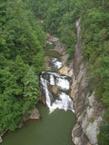 Tempesta Falls at Tallulah Gorge State Park Stock Photos