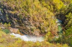 Tempesta Falls. Stock Photography