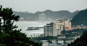 Tempesta fuori dalla costa del Giappone Fotografie Stock
