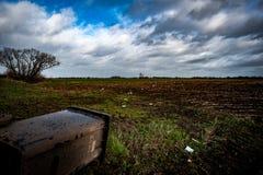 Tempesta Imogen Impact Immagini Stock Libere da Diritti