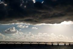 Tempesta in Key West Fotografie Stock Libere da Diritti