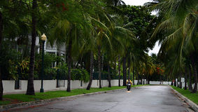 Tempesta in Key West Fotografia Stock Libera da Diritti