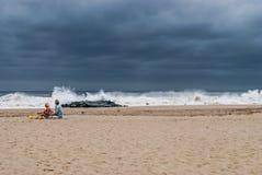Tempesta pericolosa Fotografia Stock Libera da Diritti
