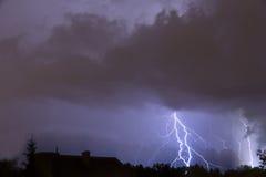 Tempesta pesante. Fotografia Stock