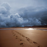 Tempesta scura Fotografie Stock