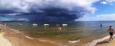 tempesta Sguardo artistico nei colori vivi Immagine Stock