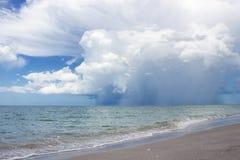 Tempesta sopra il golfo del Messico Fotografie Stock Libere da Diritti