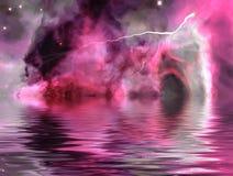 Tempesta straniera Fotografia Stock Libera da Diritti