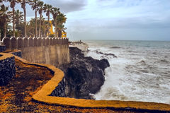 Tempesta su Tenerife Immagini Stock