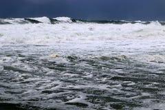 Tempesta sul Mar Mediterraneo Fotografia Stock Libera da Diritti