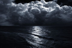 Tempesta sul mare Fotografia Stock
