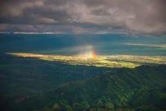 Tempesta sulla montagna Fotografia Stock Libera da Diritti