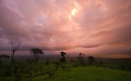 Tempesta tropicale fotografia stock libera da diritti