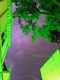 Tempesta viola Fotografie Stock Libere da Diritti