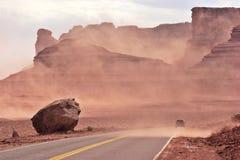Tempestad de arena Imagen de archivo libre de regalías