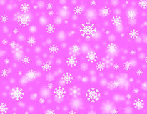 Tempestad de nieve stock de ilustración