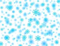 Tempestad de nieve ilustración del vector