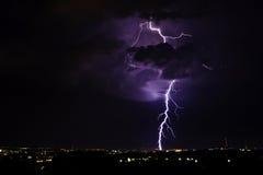 Tempestad de truenos 2 Foto de archivo