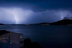 Tempestad de truenos Imagen de archivo libre de regalías