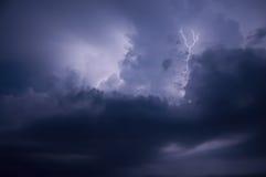 Tempestad de truenos Fotos de archivo libres de regalías