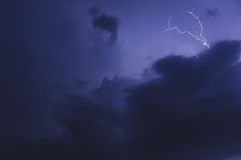 Tempestad de truenos Imagen de archivo