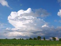 Tempestad de truenos de Illinois Fotos de archivo