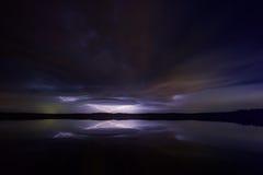 Tempestad de truenos 4 del Supercell Fotos de archivo libres de regalías