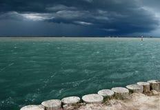 Tempestad de truenos del verano Fotografía de archivo libre de regalías