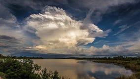 Tempestad de truenos madura en Kimberley Region de Australia occidental Imagen de archivo