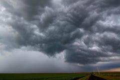 Tempestad de truenos severa que forma - Illinois Fotos de archivo libres de regalías