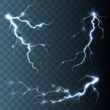 Tempestad de truenos y relámpagos Imagenes de archivo