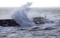A tempestade foto de stock