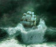 A tempestade Imagens de Stock