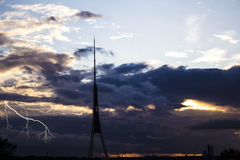 A tempestade Fotografia de Stock